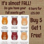 Scentsy Fragrances – Fall 6 bar special