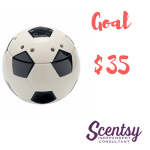 Scentsy Warmers - Goal Soccer Ball - $35