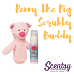 Scentsy Kids Products - Penny the Pig Scrubby Buddy