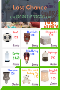 What items are leaving Scentsy in 2017