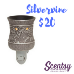 Scentsy Nightlight Warmer - Silvervine - $20