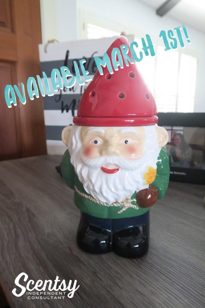 garden gnome scentsy warmer