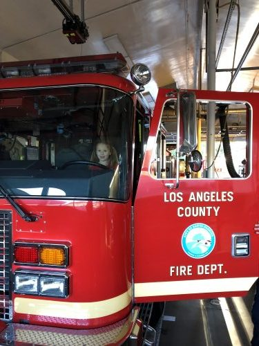 la county fire truck