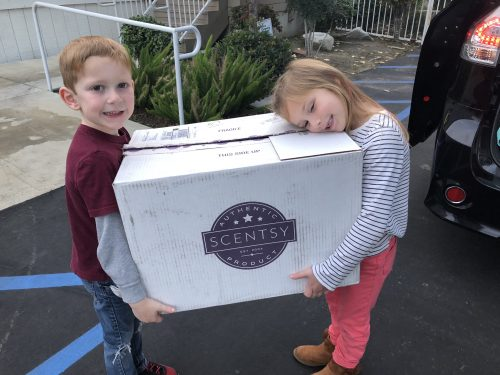 Scentsy Buddy Drive for Family Promise of SCV