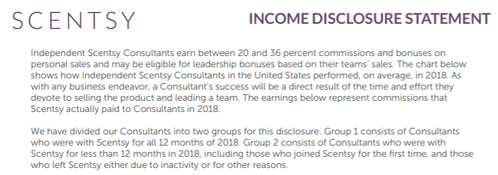 Scentsy Income Disclosure (1)